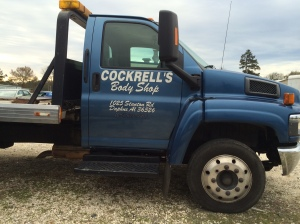 Cockrells Body SHOP TOWING TRUCK
